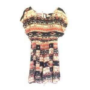 Jack multicolored midi dress